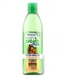Tropiclean Fresh Breath Water Additive Skin & Coat 473ml