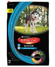 Supercoat Dog Senior 7+ Fish 18kg