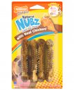Nylabone Nubz Bone Chicken Bacon 4Pack Small