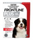 Frontline Plus Dog 40-60Kg Xlarge Red 6Pack
