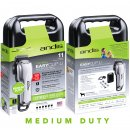 Andis MediumDuty EasyClip USPLi Cordless with 6 Guide Combs