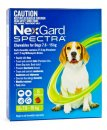 NexGard Spectra Chews For Dogs Medium 7.6-15kg 6Pack