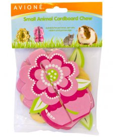 Avione Small Animal Wooden Fruit Stawberry Chews