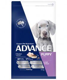 Advance Dog Puppy Growth Large+ Breed Chicken 15kg