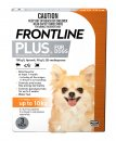 Frontline Plus Dog Upto 10Kg Small Orange 3Pack