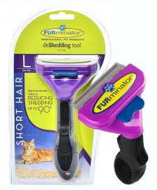 Furminator Deshedding Tool Cats Large Short Hair