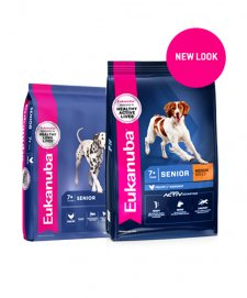 Eukanuba Dog Mature and Senior Medium Breed 15Kg for 7+ Years of Age