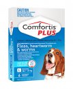 Comfortis Plus Dog 6 Pack Blue 18.1-27Kg