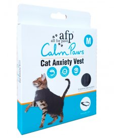 AFP Calm Paws Anxiety Vest for Cats Medium upto 13 lbs