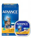 Advance Cat Wet Multipack 7x85g Adult Tender Chicken Delight