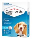 Comfortis for Dogs 6 Pack Blue 18.1-27Kg