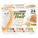 Fancy Feast Collection 24x85g Poultry Beef Pate