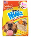 Nylabone Nubz Bone Chicken Bacon 8Pack Large
