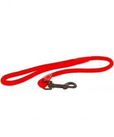 Beaupets Lead Rope Plain 10Mmx60Cm Red