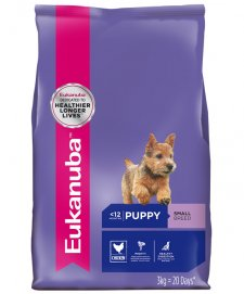 Eukanuba Dog Puppy Small Breed 3Kg