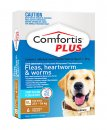 Comfortis Plus Dog 6 Pack Brown 27.1-54Kg