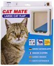 Petmate Door Large Cat Flap 4 Way Locking White