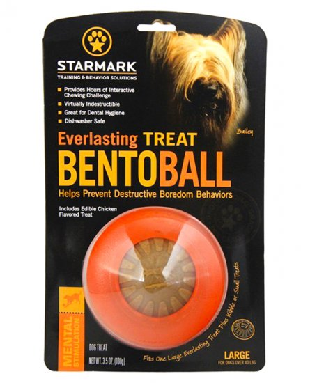 Starmark Bentoball Large for Dogs Over 18kg - Click Image to Close