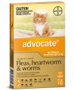 Advocate Cat Upto 4Kg Small Orange 3Pack