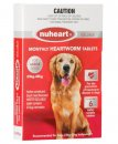 Nuheart Heartworm Tablets for Dogs 23-45kg Red 6Pack
