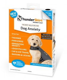 Thundershirt for Dogs Grey Large Chest Size 25-30""