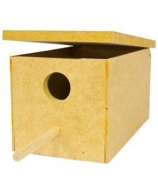 STF Wooden Breeding Box Finch 21x13x12cm