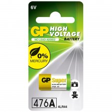 GP High Voltage 6Volt Alkaline Battery 476A/4LR44