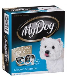 My Dog 12x100g Chicken Supreme