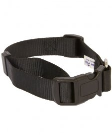 Beaupets Collar Polyware Adjustable 40-60Cm Black