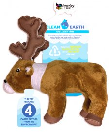 Spunky Pup Clean Earth Collection Caribou Small