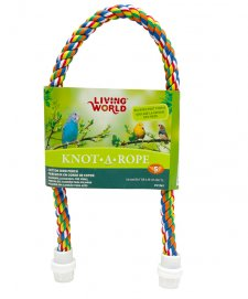 Living World Knot A Rope Cotton Perch 65cm x 16mm