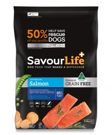 Savour Life for Dogs Grain Free Adult Salmon 2.5kg