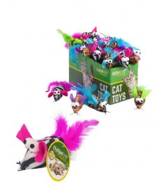 Multipet Cat Toy Safari Mice Each
