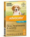 Advocate Dog 4-10Kg Medium Blue 3Pack