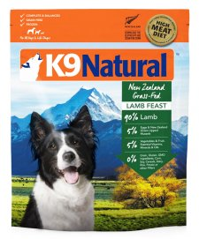 K9 Natural Lamb 3.6kg (makes 14.4kg)
