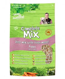 Vets All Natural Complete Mix Puppy Refill 15Kg
