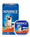 Advance Cat Wet Multipack 7x85g Adult Chicken & Liver Medley