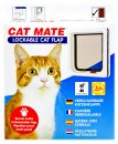 Petmate Cat Mate Door 2Way Locking White