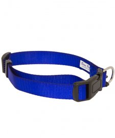 Beaupets Collar Polyware Adjustable 28-45Cm Blue