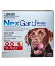 NexGard Chews Large 25-50kg 3Pack