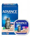 Advance Cat Wet Multipack 7x85g Kitten Chicken & Salmon Medley