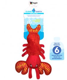 Spunky Pup Clean Earth Collection Lobster Large