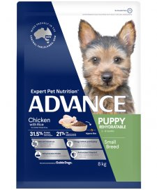 Advance Dog Puppy Growth Toy Small Breed Chicken 8kg