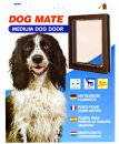 Petmate Dog Mate Dog Door Medium Brown