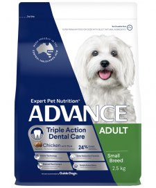 Advance Dog Adult Toy Small Breed Dental 2.5kg
