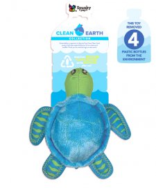 Spunky Pup Clean Earth Collection Turtle Small