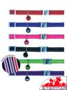 Beaupets Cat Collar Adjustable Reflective Fluro Green