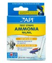 API Quick Testing Strips Ammonia 25 test strips