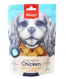 Wanpy Biscuit With Chicken Jerky 100G