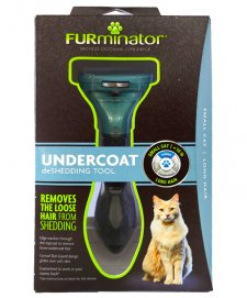 Furminator Box Deshedding Tool Cats Small Long Hair